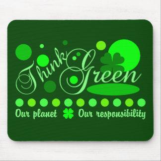 Think Green mousepad