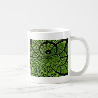 Think green ! classic white coffee mug