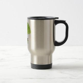 THINK GREEN COFFEE MUG