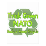 Think Green Nato16.Png Postcard