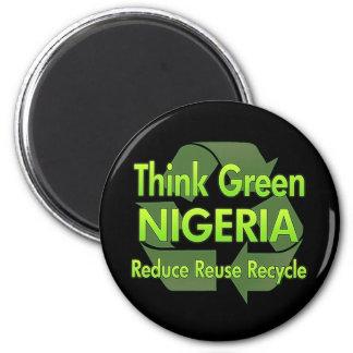 Think Green Nigeria Fridge Magnets