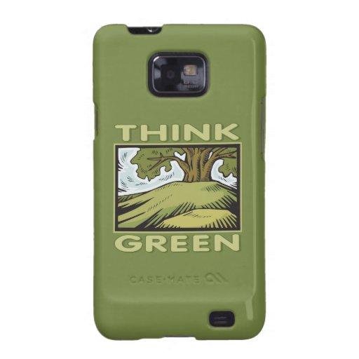 Think Green Oak Tree Galaxy SII Cover