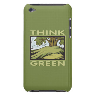 Think Green Oak Tree iPod Touch Case-Mate Case