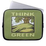 Think Green Oak Tree Laptop Sleeves
