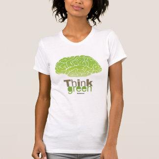 THINK GREEN Politiclothes Humor -.png Tshirt