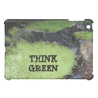 Think Green Pond  Cover For The iPad Mini
