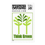 Think Green postage stamps