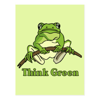 Think Green Post Cards