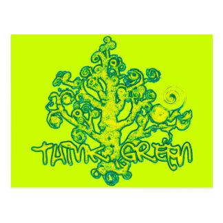 Think_Green Postcard