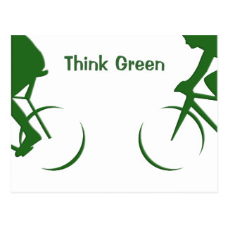 Think Green Postcard