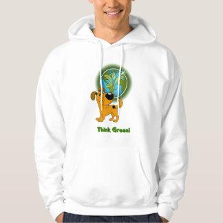 Think Green! (Pumpkin) Hoodie