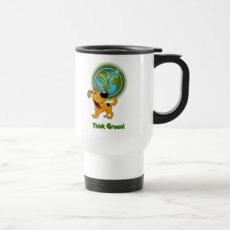 Think Green! - Pumpkin Travel Mug