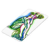 tree, girl, artistic, portrait, ecology, green, creative, painting, artsprojekt, earth, [[missing key: type_fuji_fleximagne]] com design gráfico personalizado