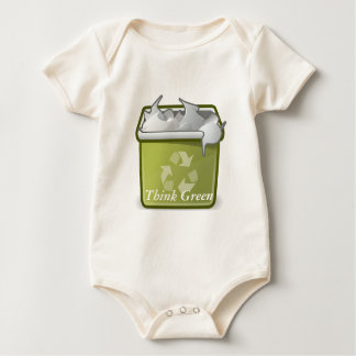 Think Green: Recycle Baby Bodysuit