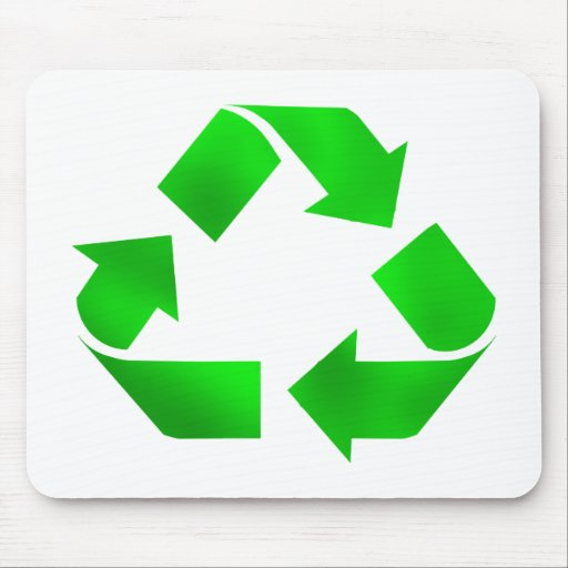 Think Green - Recycle Mouse Pad