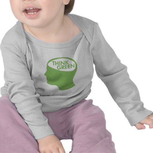 Think Green Recycle T Shirts