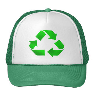 Think Green - Recycle Trucker Hat