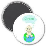 Think ... Green Refrigerator Magnet