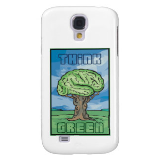 Think Green Samsung Galaxy S4 Cover