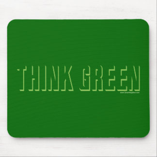 Think Green - Shadow Mouse Pad