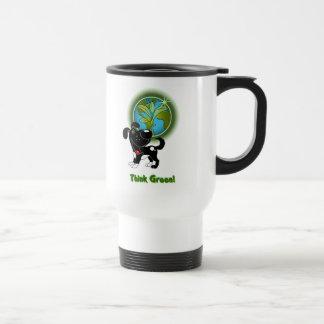 Think Green! - Shadow Travel Mug