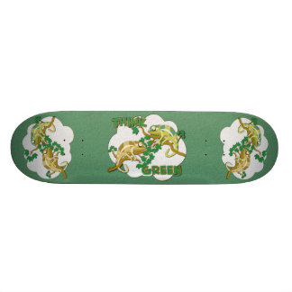 Think Green Skateboard
