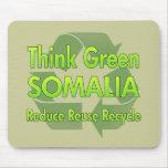 Think Green Somalia Mouse Pad