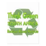 Think Green South Africa Postcard