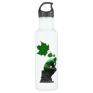 Think Green Stainless Steel Water Bottle