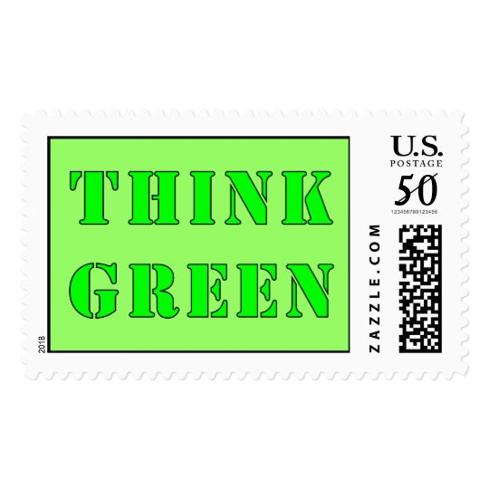 Think Green Stamp