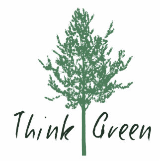 Think Green Statuette