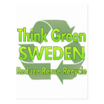 Think Green Sweden Post Card