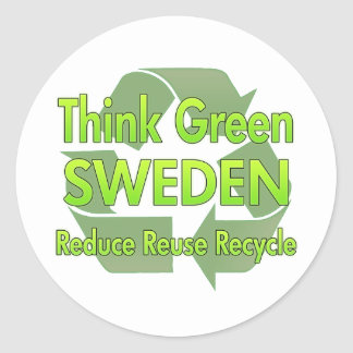 Think Green Sweden Stickers