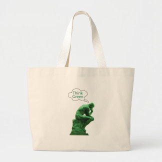 Think Green Thinker Tote Bag