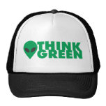 Think Green Trucker Hat