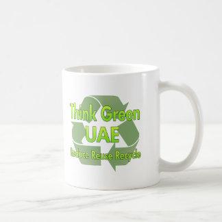 Think Green Uae Coffee Mug
