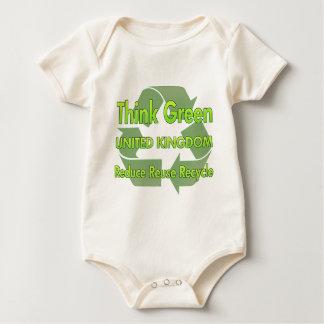 Think Green United Kingdom Rompers