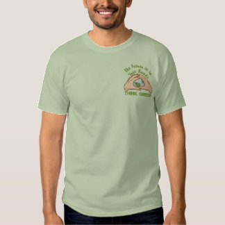 Think Green World Embroidered T-Shirt