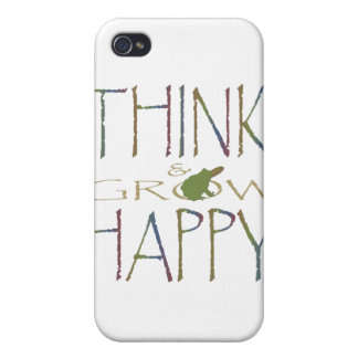 Think & Grow Happy iPhone 4 Case
