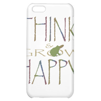 Think & Grow Happy iPhone 5C Cover