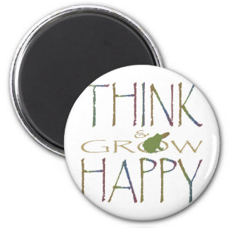 Think & Grow Happy Magnet