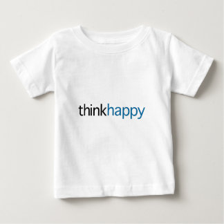Think Happy (blue edition) Baby T-Shirt