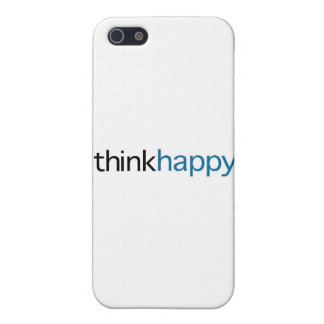 Think Happy (blue edition) Case For iPhone SE/5/5s