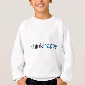 Think Happy (blue edition) Sweatshirt