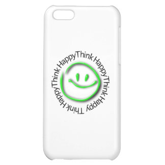 Think Happy (green neon edition) iPhone 5C Cover