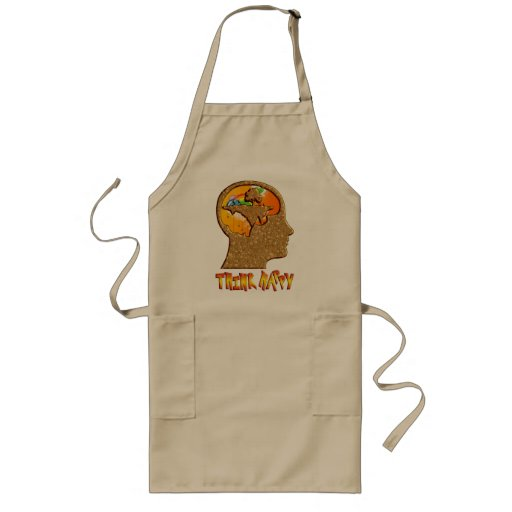 Think Happy Long Apron