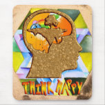 Think Happy Mousepads