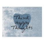 Think Happy Postcard