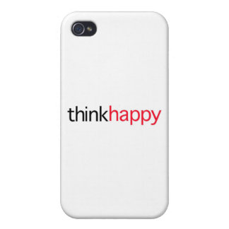 Think Happy (red edition) iPhone 4/4S Case
