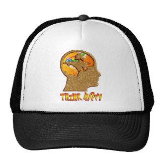 Think Happy Trucker Hat